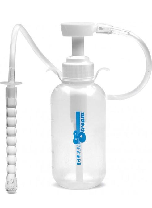 CleanStream Pump Action Enema Bottle with Nozzle