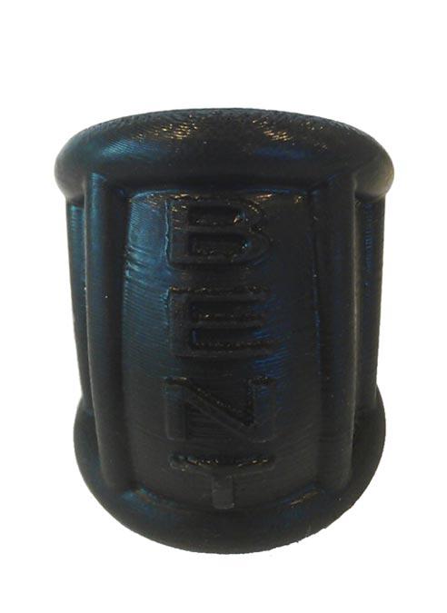 Oxballs Bent-1 Curved Ballstretcher Silicone Black Small