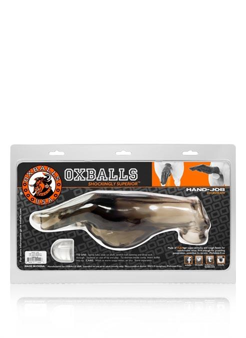 Oxballs Hand-Job Fist Cocksheath TPR Smoke