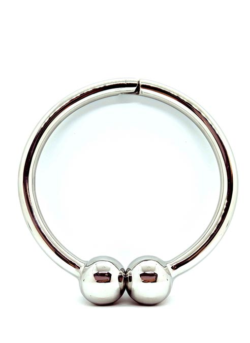 Black Label Stainless Steel Barbel Collar with Magnetic Closer 18 cm
