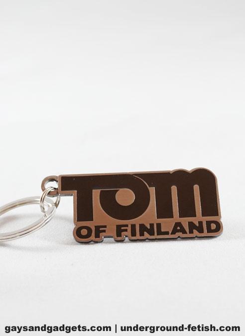 Tom of Finland Logo Keyring