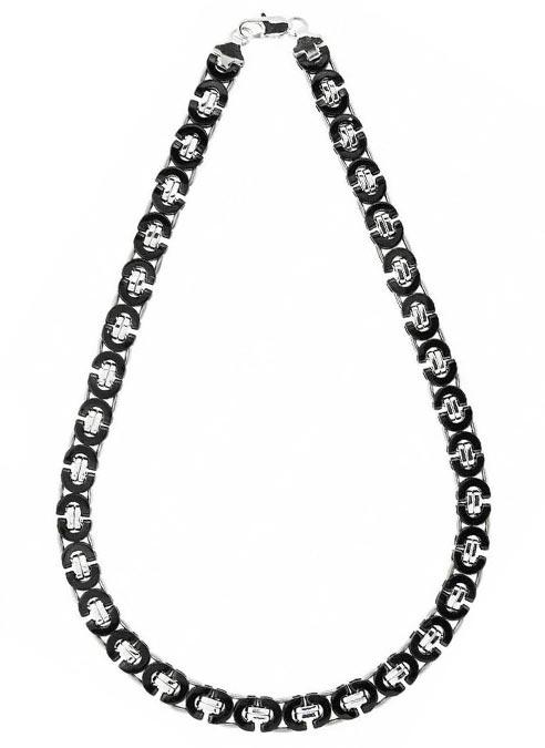 Bukovsky Chain Platte Koningsschakel Bi-color Polished - 56 x 1,1 x 0,4 cm
