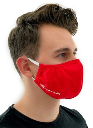 Alexander Cobb Shaped Facemask Black