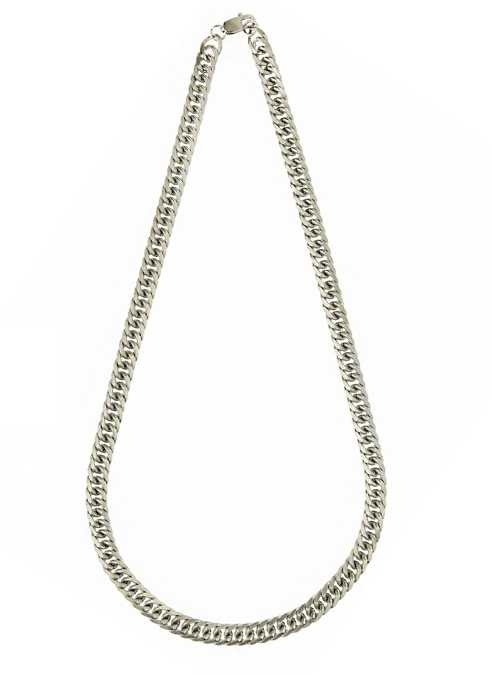 Bukovsky Chain Gourmette Brushed - 60 x 0,9 x 0,4 cm