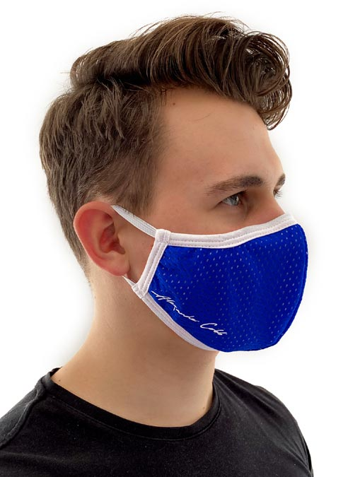 Alexander Cobb Shaped Facemask Mesh Black