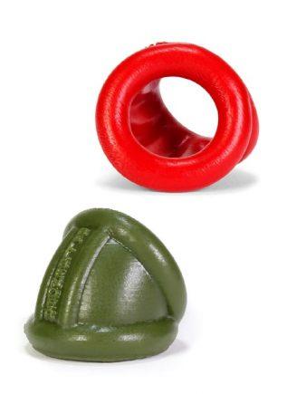 Oxballs Ballbender Cockring / Ballstretcher Silicone Army