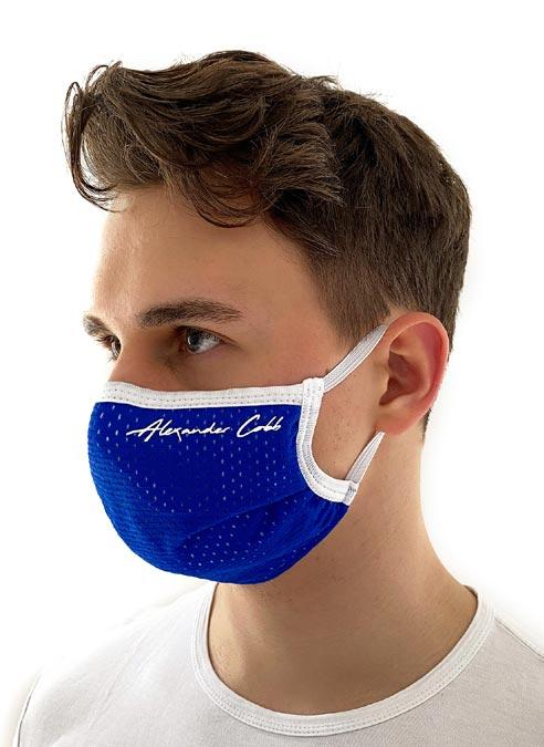 Alexander Cobb Mesh Facemask Black