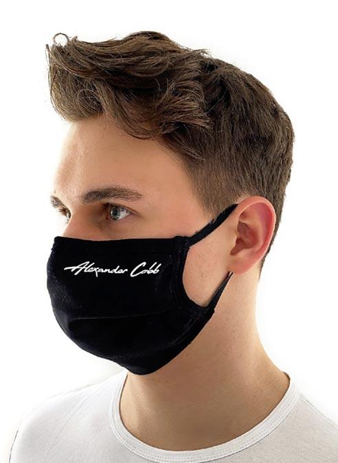 Alexander Cobb Facemask Black