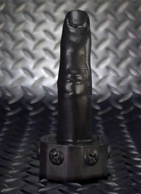 Oxballs Finger Pegger Silicone Black