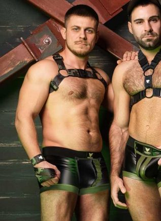 Maskulo Enforce Bulldog Harness Camo