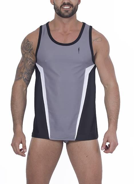 Leader Contour Sports Vest Grey Medium