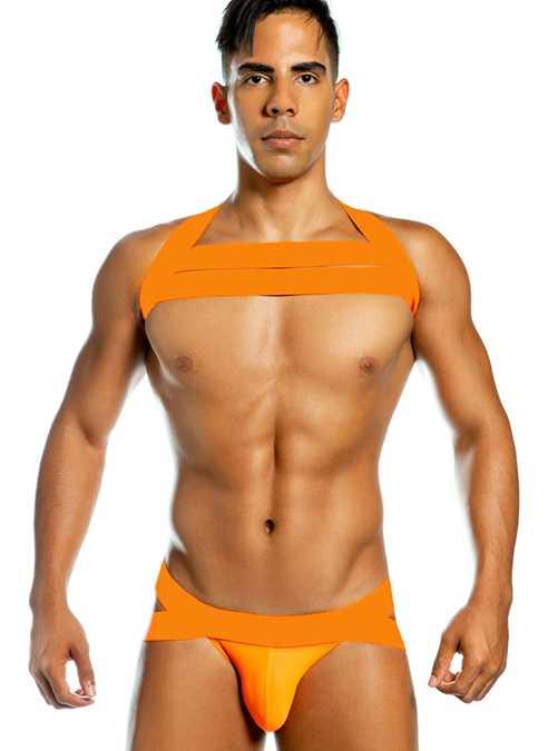 Gigo Neon Jockstrap Orange Extra Large