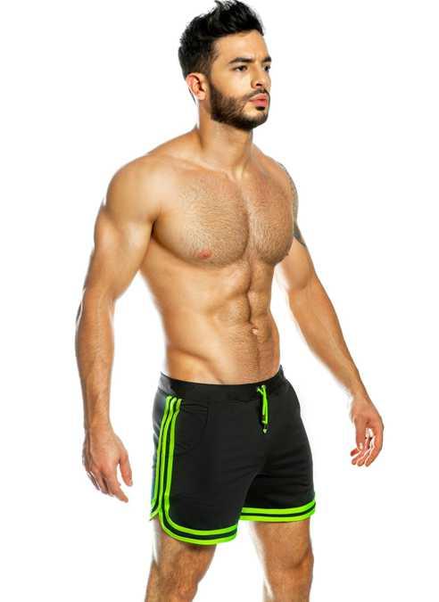 Gigo Shorts Treeline Black Extra Large