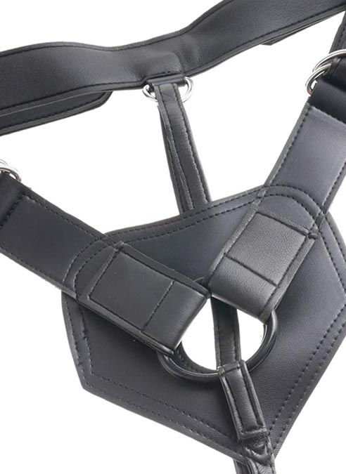 """Pipedream King Cock Strap-on Harness with 9"""" Cock"""