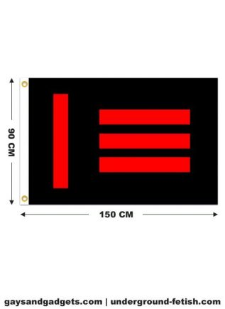 Flag Master Slave Pride Printed 90 x 150 cm