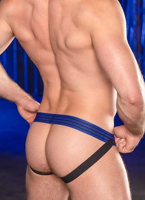 Mr. S Artillery Jockstrap Blue Small