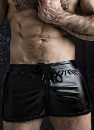 Locker Gear 2 Way Zipper Shorts Black Extra large