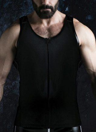 Locker Gear Zipper Vest Black Small