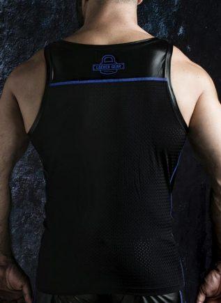 Locker Gear Zipper Vest Blue Large