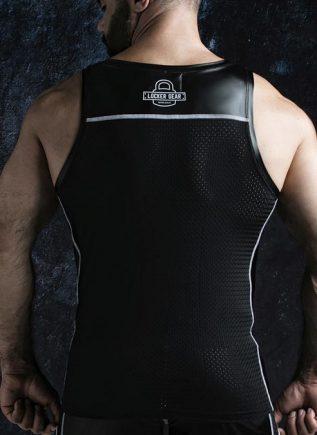 Locker Gear Zipper Vest White Extra Large