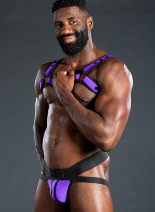 Mr. S Neo Air Mesh Jock Purple Medium